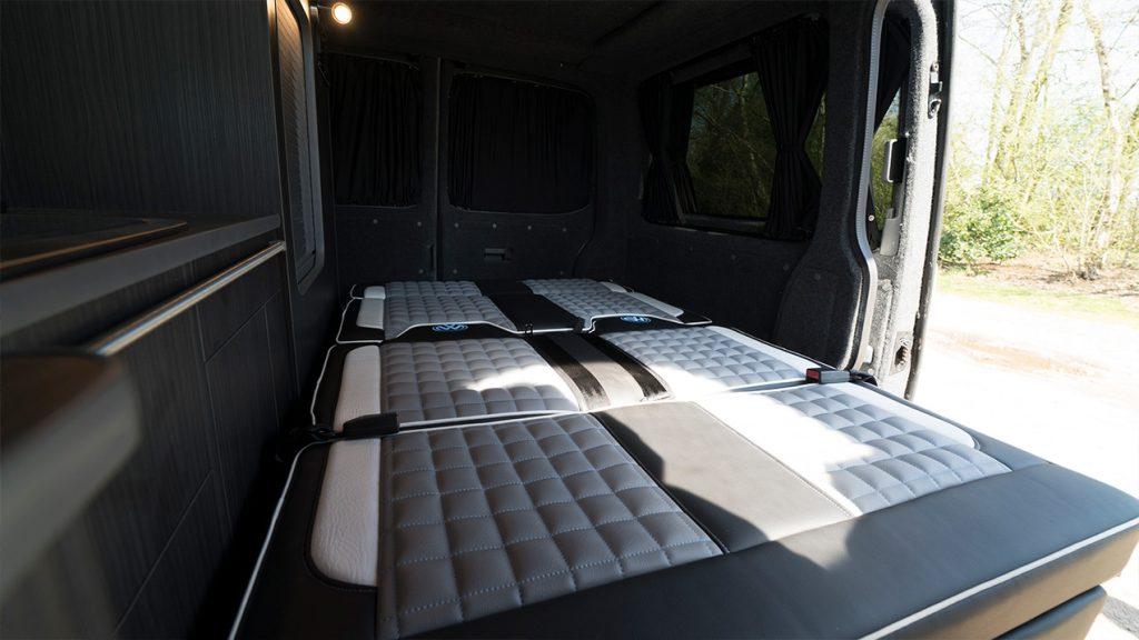 Camper Van Bed Area