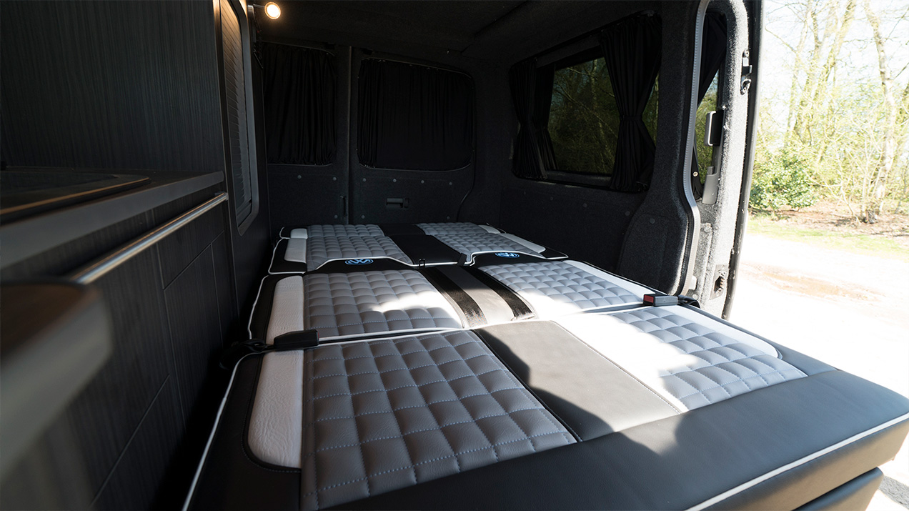 Camper Van Bed Area