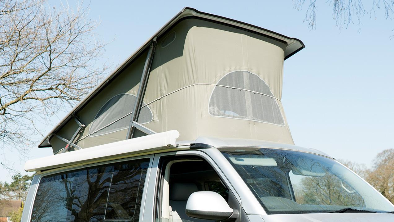 CamperVan Portfolio Roof